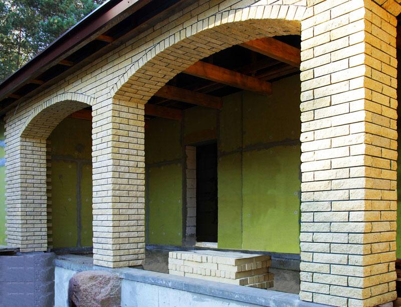арка под кирпич