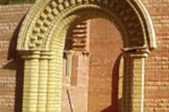 отделка арки под кирпич