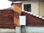 Комбинированные заборы из кирпича