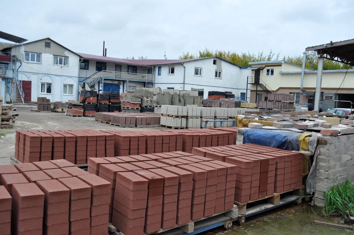 Производственные площади кирпичного завода в Беларуси