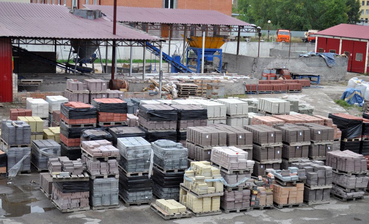 Производственные площади кирпичного завода Надежда
