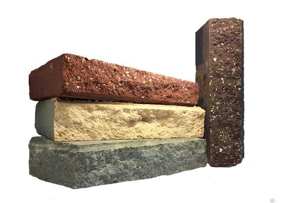 Декоративный кирпич колотый камень