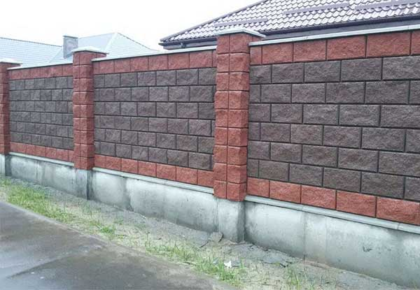 забор из демлерных блоков