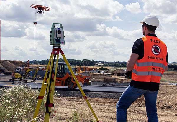 дроны в строительстве